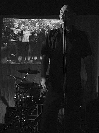Steve Ignorant - Ignorant at Cafe ExZess, Frankfurt, 17 October 2010