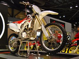 2010 Honda CRF250R at the 2009 Seattle International Motorcycle Show 2.jpg
