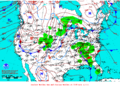 2012-01-11 Surface Weather Map NOAA.png