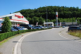 Carrefour Market in Aywaille.