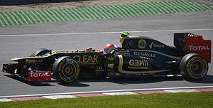 2012 Canadian GP - Romain Grosjean Lotus E20 03.jpg