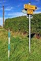 2012 Cierlicko Dolne, Znaki szlaków rowerowych (02).jpg
