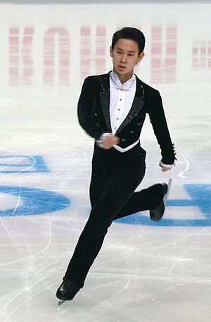 Denis Ten - Ten at the 2012 Rostelecom Cup