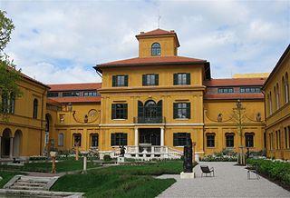 Lenbachhaus art museum in Munich, Germany