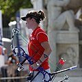 2013 FITA Archery World Cup - Women's individual compound - Semifinals - 32.jpg