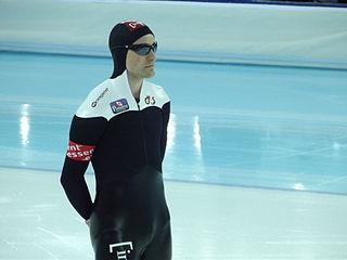 Denny Morrison Canadian speed skater