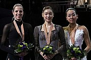 Description de l'image 2013 World Championships Ladies Podium.jpg.