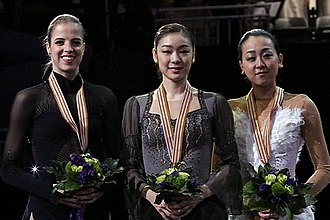 2013 World Figure Skating Championships - The ladies' medalists