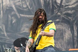 Andreas Kisser - Andreas Kisser at Nova Rock Festival 2014