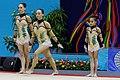 2014 Acrobatic Gymnastics World Championships - Women's group - Qualifications - Portugal 04.jpg