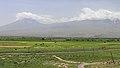 2014 Prowincja Ararat, Krajobraz widziany z klasztoru Chor Wirap (03).jpg