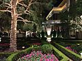 2015-01-16 00 25 49 Garden at night inside the Encore Hotel and Casino in Las Vegas, Nevada.JPG