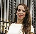 2015-05-21, Victoria Onetto en la inauguración del Centro Cultural Kirchner (Buenos Aires) detalle rostro.jpg