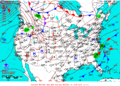 2015-10-11 Surface Weather Map NOAA.png