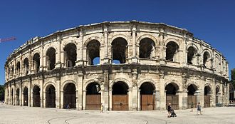 Nîmes - Arena of Nîmes.