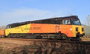 British Rail Class 70 (diesel) - Colas Rail 70803