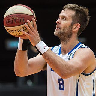 Hlynur Bæringsson Icelandic basketball player