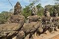 2016 Angkor, Angkor Thom, Brama południowa (06).jpg