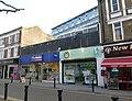 2016 Woolwich, Powis Street shops 08.jpg