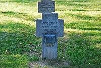 2017-09-28 GuentherZ Wien11 Zentralfriedhof Gruppe97 Soldatenfriedhof Wien (Zweiter Weltkrieg) (090).jpg