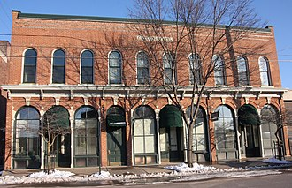 National Register of Historic Places listings in Winona County, Minnesota - Image: 2017Angers Block