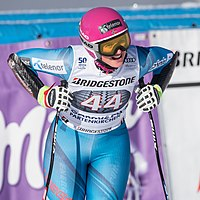2017 Audi FIS Ski Weltcup Garmisch-Partenkirchen Damen - Maria Therese Tviberg - by 2eight - 8SC0496.jpg