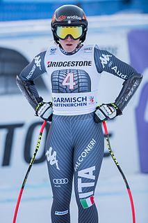 Sofia Goggia Italian alpine skier