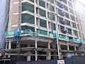 2017 Obres de conversió d'oficines en hotel a l'avinguda Francesc Cambó n 14.jpg