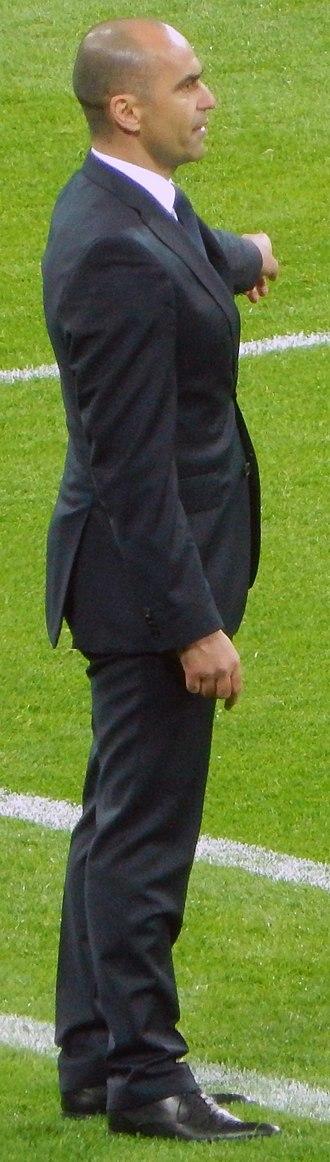 Roberto Martínez - Roberto Martínez as Belgium national football team head coach
