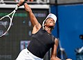 2017 US Open Tennis - Qualifying Rounds - Sachia Vickery (USA) def. Jamie Loeb (USA) (36981791332).jpg