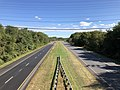 2019-10-10 14 35 04 View east along Maryland State Route 32 (Patuxent Freeway) from the overpass for Maryland State Route 108 (Clarksville Pike) in Columbia, Howard County, Maryland.jpg