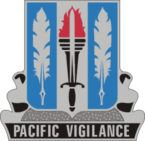 500th Military Intelligence Brigade (United States) - Image: 205 MI Bn DUI