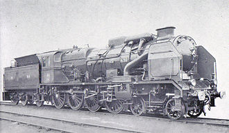 4-8-0 - Early 240P class 4-8-0