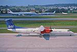 244bw - Scandinavian Airlines Commuter DHC-8-402 Dash 8Q, OY-KCF@ZRH,06.07.2003 - Flickr - Aero Icarus.jpg