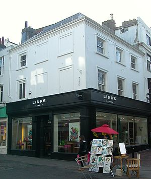 Grade II listed buildings in Brighton and Hove: E–H - Image: 26 and 27 East Street, Brighton (Io E Code 480655)