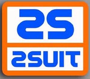 2suit - Logo emblem designating spacesuit functionality as a 2suit