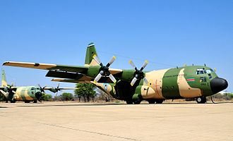 Botswana Defence Force Air Wing - Two BDF Air Wing C-130s