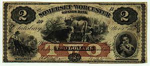 History of the United States dollar - 2 dollars, first November 1862