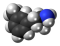 3-Methylamphetamine molecule spacefill.png
