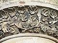 30 Bridge St, Penicuik, Detail of sculpted area on column.jpg