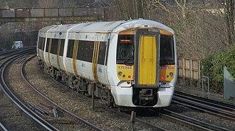 British Rail Class 375 - The exterior of a Class 375 prior to refurbishment
