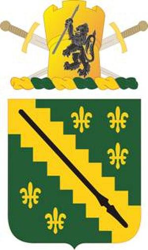38th Cavalry Regiment - Coat of arms