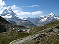 3955 - Gornergrat - Matterhorn and Riffelsee.JPG