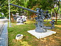 3 Inch 50 Caliber Anti-Aircraft Gun and Bofors Mk 1 40mm Twin Guns Display at Chengkungling 20121006.jpg