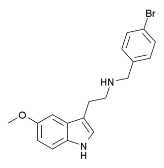 5-MeO-NBpBrT - Image: 5 Me O N Bp Br T structure