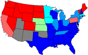 United States House of Representatives elections, 1890 - Image: 52 us house membership