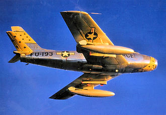 531st Tactical Fighter Squadron - Image: 531st Fighter Bomber Squadron North American F 86F 35 NA Sabre 52 5193