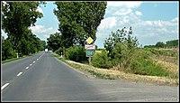 54-es főút, a település határa, Kecel, 6237 Hungary - panoramio.jpg