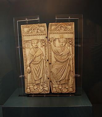 Manlius Boethius - Consular diptych of Boethius