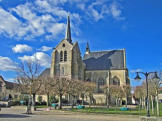 Ablis - The church of Saint-Pierre, in Ablis